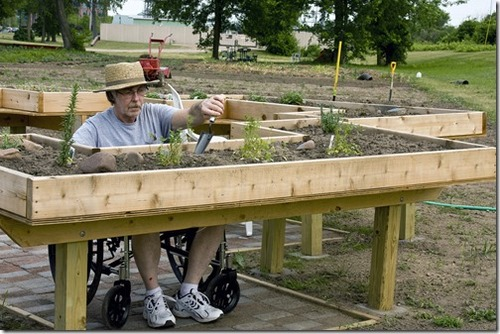 How To Build A Concrete Raised Bed Garden For The Disabled