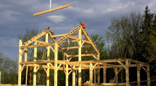 Why should we choose a timber frame house?