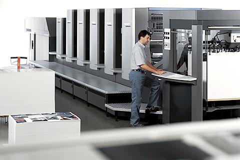New Heidelberg machines or used ones?