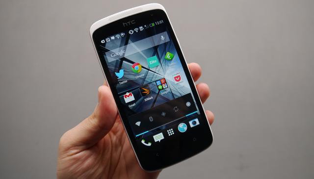 Care sunt standardele ecranului HTC Desire 500?
