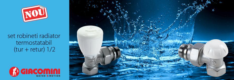 Cum sa economisesti folosind un robinet termostat Giacomini?