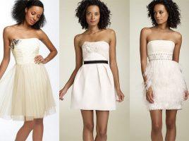 Cum se poarta o rochie alba in mod corect?