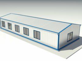 Pasi in construirea unei hale metalice