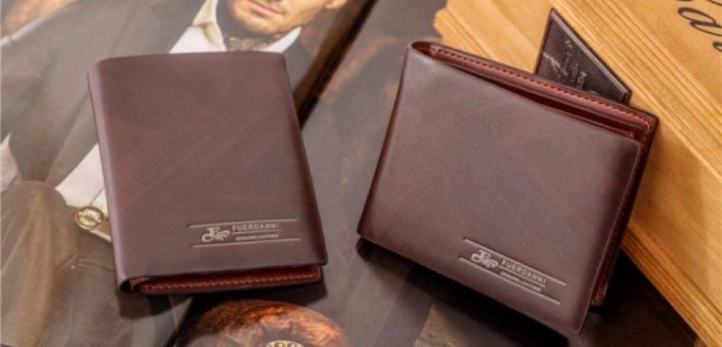 Cum alegi un portofel din piele barbatesc?