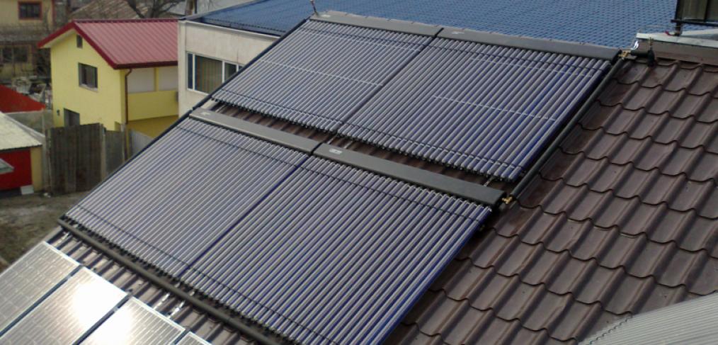 Panouri solare termice cu tuburi vidate sau plane?