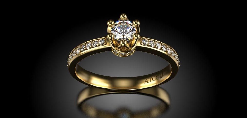Inele de logodna cu diamante