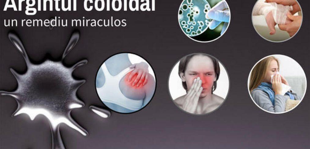 Beneficiile argintului coloidal asupra sanatatii