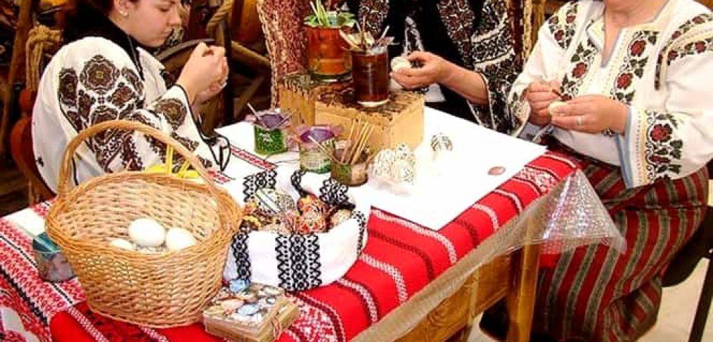 Traditii si obiceiuri de la romani de Paste